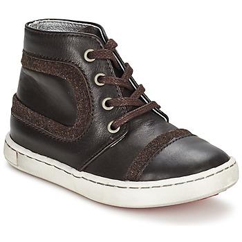 Sapatos Rapaz Botas baixas Tartine Et Chocolat JR URBAIN Chocolate