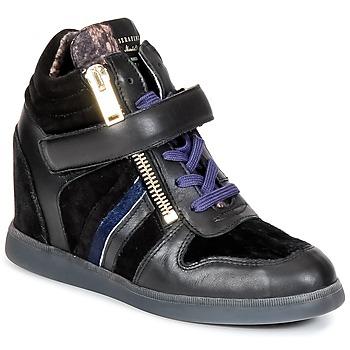Sapatos Mulher Sapatilhas de cano-alto Serafini LEXINGTON Preto