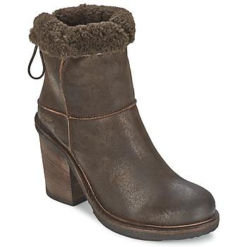 Sapatos Mulher Botins OXS MUCELAGO Castanho