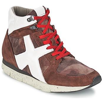 Sapatos Mulher Sapatilhas de cano-alto OXS JAZZ Bordô