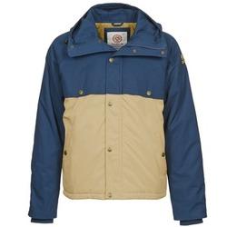 Textil Homem Parkas Franklin & Marshall JKMVA034 Azul / Bege