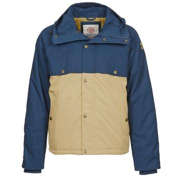 Textil Homem Casacos Franklin & Marshall JKMVA034 Azul / Bege
