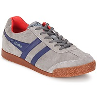Sapatos Homem Sapatilhas Gola HARRIER Cinza / Marinho / Vermelho