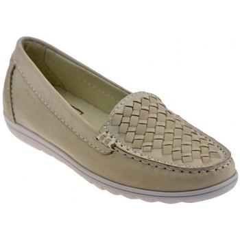 Sapatos Mulher Mocassins Keys  Bege