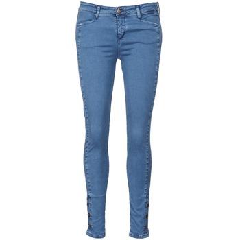 Textil Mulher Calças de ganga slim Acquaverde ALFIE Azul / Claro
