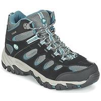 Sapatos Mulher Sapatos de caminhada Merrell RIDGEPASS MID GTX Cinza