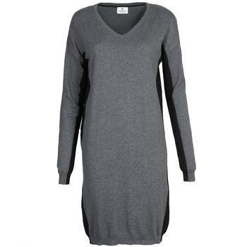 Textil Mulher Vestidos curtos Chipie MONNA Cinza / Preto
