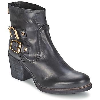 Sapatos Mulher Botins Meline LODU Preto