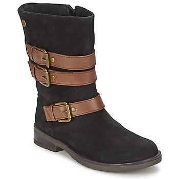 Sapatos Rapariga Botas Gioseppo HALIFAX Preto