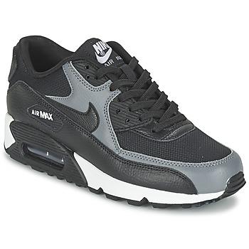 Sapatos Mulher Sapatilhas Nike AIR MAX 90 W Preto / Cinza