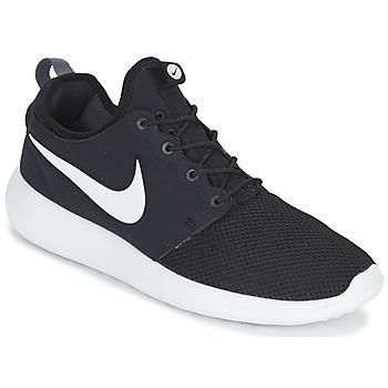Sapatos Homem Sapatilhas Nike ROSHE TWO Preto / Branco