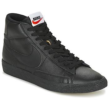 Sapatos Homem Sapatilhas de cano-alto Nike BLAZER MID Preto