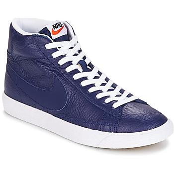 Sapatos Homem Sapatilhas de cano-alto Nike BLAZER MID Azul