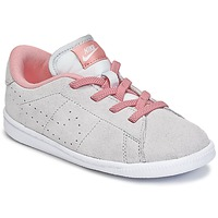 Sapatos Rapariga Sapatilhas Nike TENNIS CLASSIC PREMIUM TODDLER Cinza / Rosa
