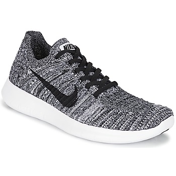 Sapatos Mulher Sapatilhas de corrida Nike FREE RUN FLYKNIT W Branco / Preto