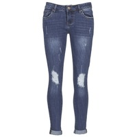 Textil Mulher Calças de ganga slim Yurban FOUNOLE Azul