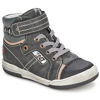 Sapatos Rapaz Sapatilhas de cano-alto GBB HERMINIG Cinza