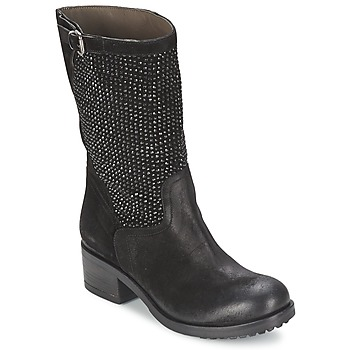 Sapatos Mulher Botas baixas Now DIOLA Preto