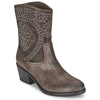 Sapatos Mulher Botas baixas Now PIOMBO Cinza