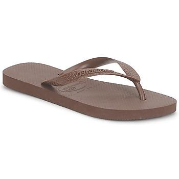 Sapatos Chinelos Havaianas TOP Castanho