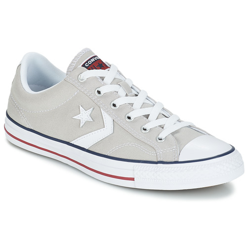 Sapatos Sapatilhas Converse STAR PLAYER CORE CANVAS OX Cinza / Claro / Branco