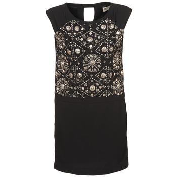Textil Mulher Vestidos curtos Stella Forest BRO040 Preto