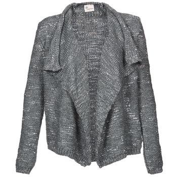 Textil Mulher Casacos de malha Stella Forest BGI002 Cinza
