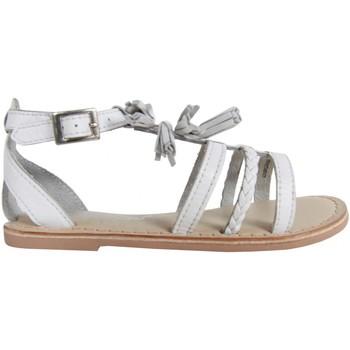 Sapatos Rapariga Sandálias Cheiw 47116 Blanco