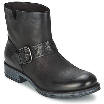 Sapatos Mulher Botas baixas Café Noir ROSAS Preto