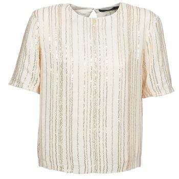 Textil Mulher Tops / Blusas Antik Batik ROMINA Creme