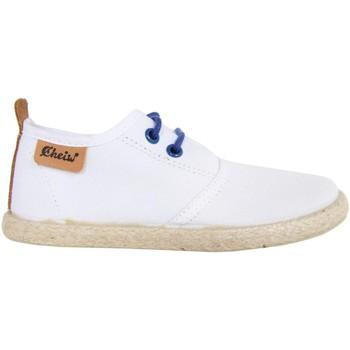 Sapatos Criança Sapatos & Richelieu Cheiw 47108 Blanco