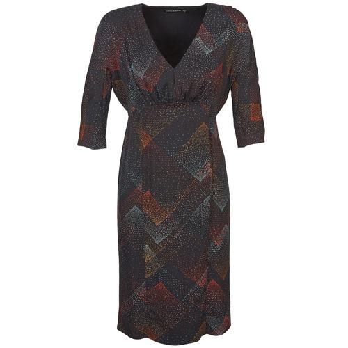 Textil Mulher Vestidos curtos Antik Batik ORION Preto