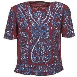Textil Mulher Tops / Blusas Antik Batik NIAOULI Bordô