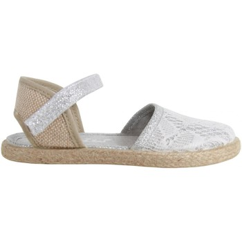 Sapatos Rapariga Sandálias Cheiw 47110 Plateado