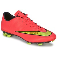 Sapatos Homem Chuteiras Nike MERCURIAL VELOCE II FG Hypr / Punch / Gld / Preto