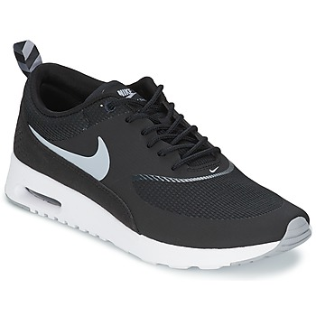 Sapatos Mulher Sapatilhas Nike AIR MAX THEA Preto / Lobo / Cinza-antracite-branco