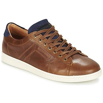 Sapatos Homem Sapatilhas Redskins ORMIL Conhaque / Marinho