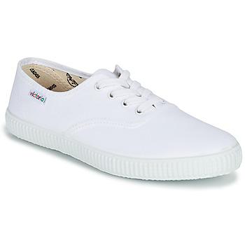 Sapatos Sapatilhas Victoria INGLESA LONA Branco