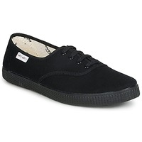 Sapatos Sapatilhas Victoria INGLESA LONA PISO Preto
