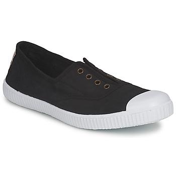 Sapatos Mulher Sapatilhas Victoria 6623 Preto