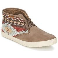 Sapatos Mulher Sapatilhas de cano-alto Victoria SAFARI TEJIDOS ETNICOS Toupeira