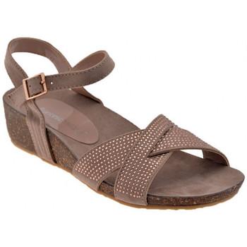 Sapatos Mulher Sandálias F. Milano  Cinza