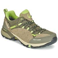 Sapatos Homem Sapatos de caminhada Tecnica T-CROSS LOW GORETEX Toupeira / Verde