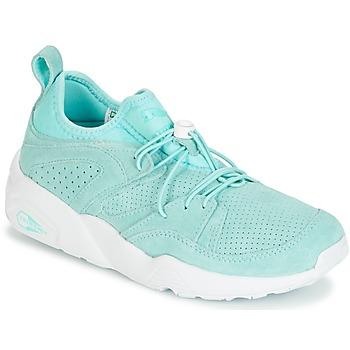 Sapatos Mulher Sapatilhas Puma BLAZE OF GLORY SOFT WNS Azul / Branco