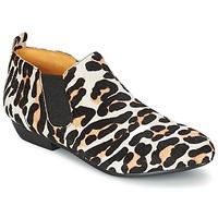 Sapatos Mulher Botas baixas Buffalo SASSY Leopardo