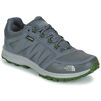 Sapatos Homem Sapatos de caminhada The North Face LITEWAVE FASTPACK GORETEX Cinza