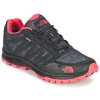Sapatos Mulher Sapatos de caminhada The North Face LITEWAVE FASTPACK GORETEX Preto / Coral