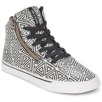 Sapatos Mulher Sapatilhas de cano-alto Supra CUTTLER Branco / Preto