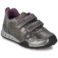 Sapatos Rapariga Sapatilhas Geox NEW JOCKER GIRL Cinza