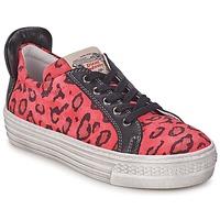 Sapatos Rapariga Sapatilhas Diesel JAKID Rosa / Leopardo